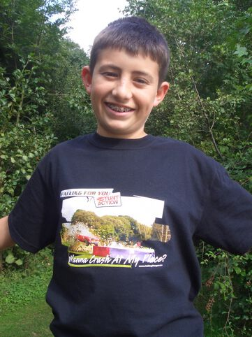 Black Stunt T-Shirt